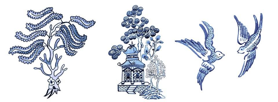Willow Pattern The Story Of Two Blue Birds Nottingham Lakeside Arts