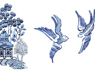 Willow Pattern: The Story of the Two Blue Birds