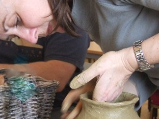 Ancient Craft for Kids: Saxon Pot Making