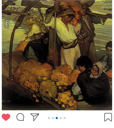 Image of La Ofrenda by Saturnino Herran