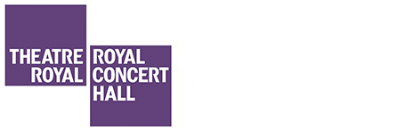 The Royal Concert Hall logo in purple