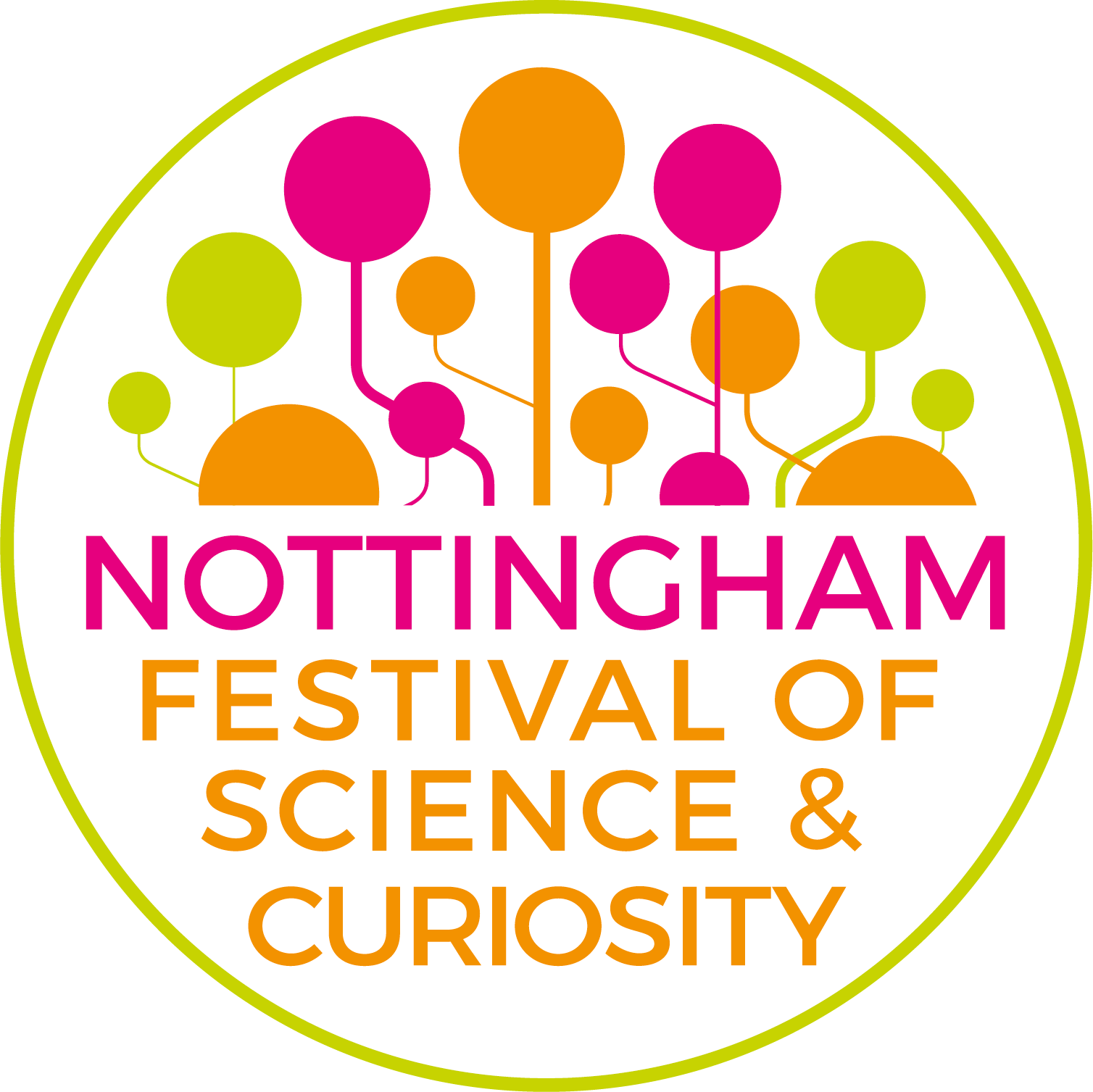 Nottingham Festival of Science and Curiosity logo