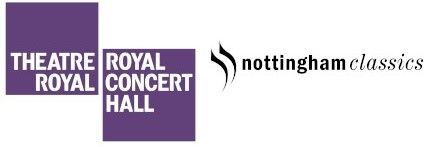 Theatre Royal & Royal Concert Hall logo followed by Nottingham Classics logo