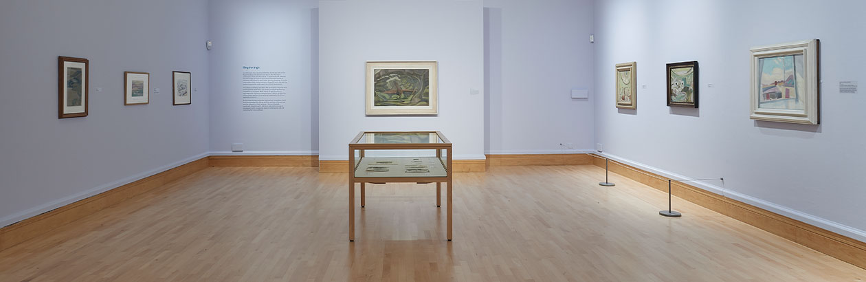 Image of Ivon Hitchens: Space Through Colour exhibition in the Djanogly Gallery