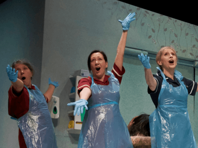 Nurse actors in Inside Out Of Mind