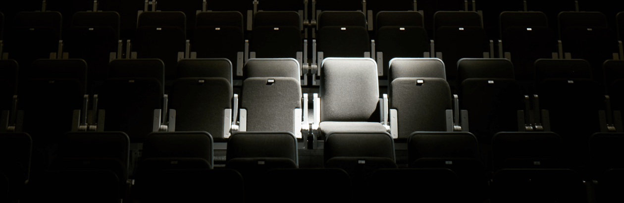 Seats in Djanogly Theatre