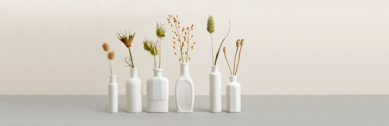 Vases by craft maker
