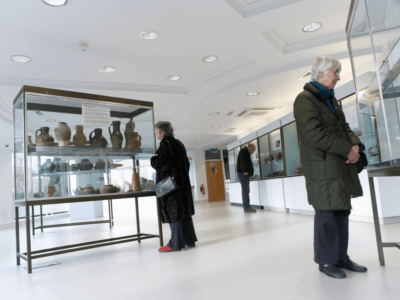 Visitors in the University of Nottingham Museum