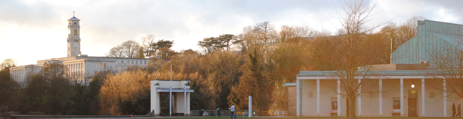 Photograph of Trent Building and Lakeside DH Lawrence Pavilion